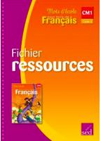 Mots D'École CM1 - Fichier