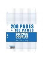 200 copies doubles+100...